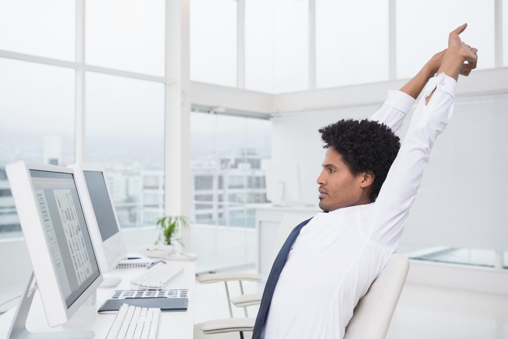 office desk exercises