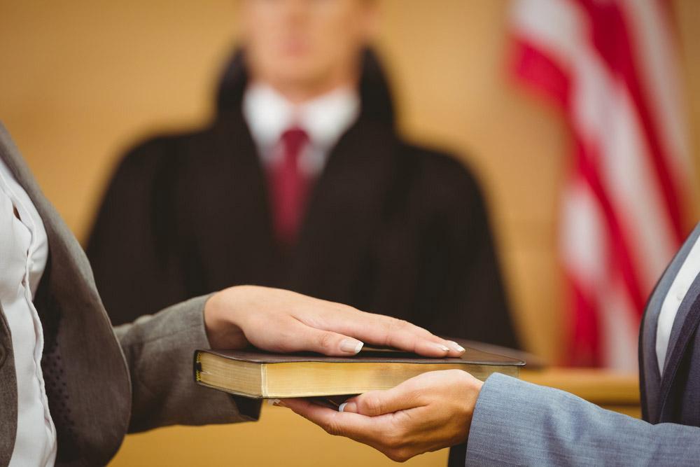 court witness tips nj