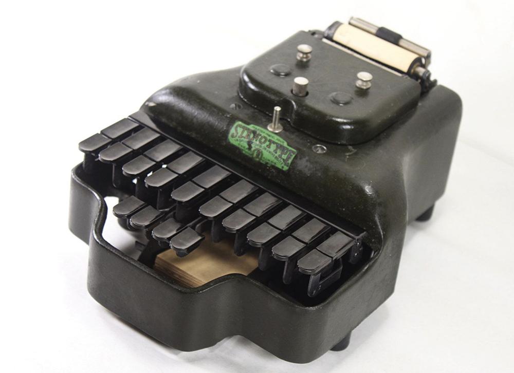 history-of-stenograph-machine